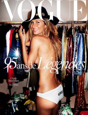 Christy! Kendall! Gisele! Kate! Vogue Paris Celebrates 95 Years with 4 Covers