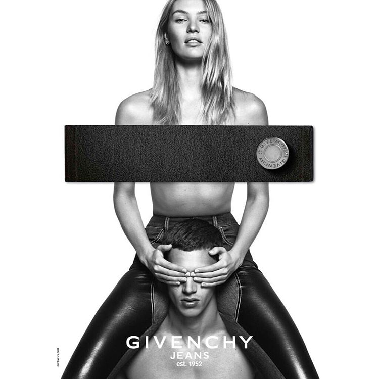 Givenchy Jeans Campaign Debuts with Candice Swanepoel