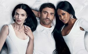 Naomi Campbell, Mariacarla Boscono Pose in Bed with Riccardo Tisci for Vogue Brazil Cover
