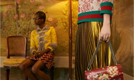 An image from Gucci's cruise 2016 campaign