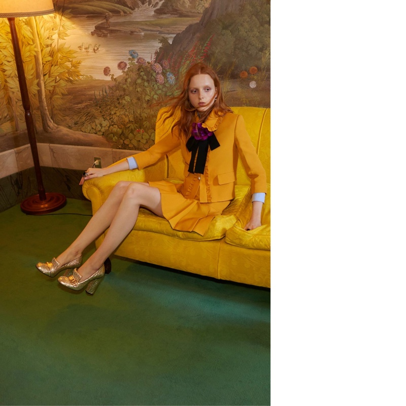 Another image from Gucci's cruise 2016 campaign that was banned by the UK's Advertising Standards Authority