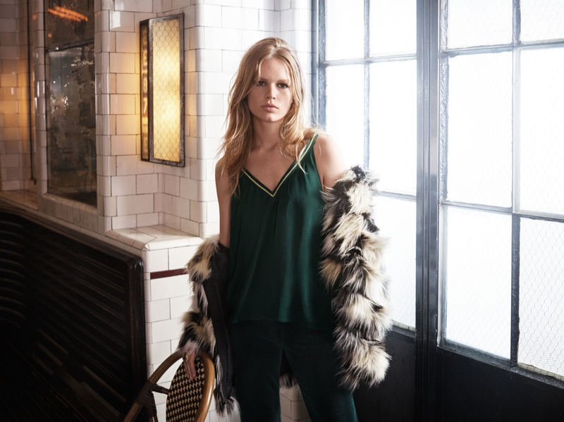 Anna Ewers for H&M Fall 2015 campaign