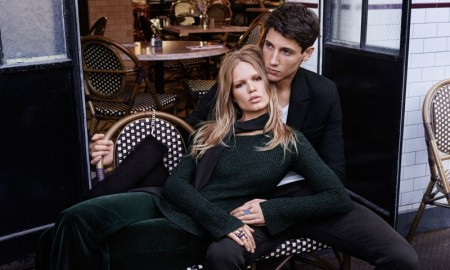 Anna Ewers stars in H&M's Fall in Love campaign for the fall 2015 season