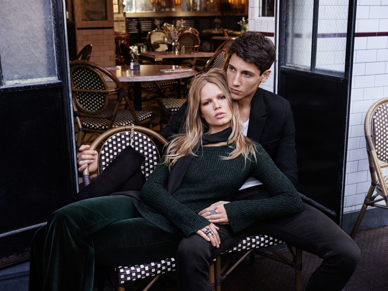 Anna Ewers Gets Romantic for H&M's Latest Campaign