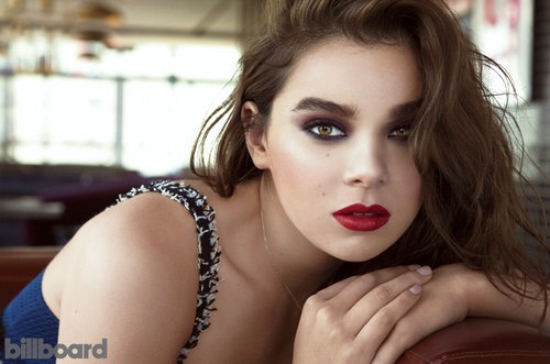 Hailee Steinfeld may be known as an actress, but the September 2015 issue of Billboard Magazine spotlights her as a musician in these images captured by Andrew Yee.