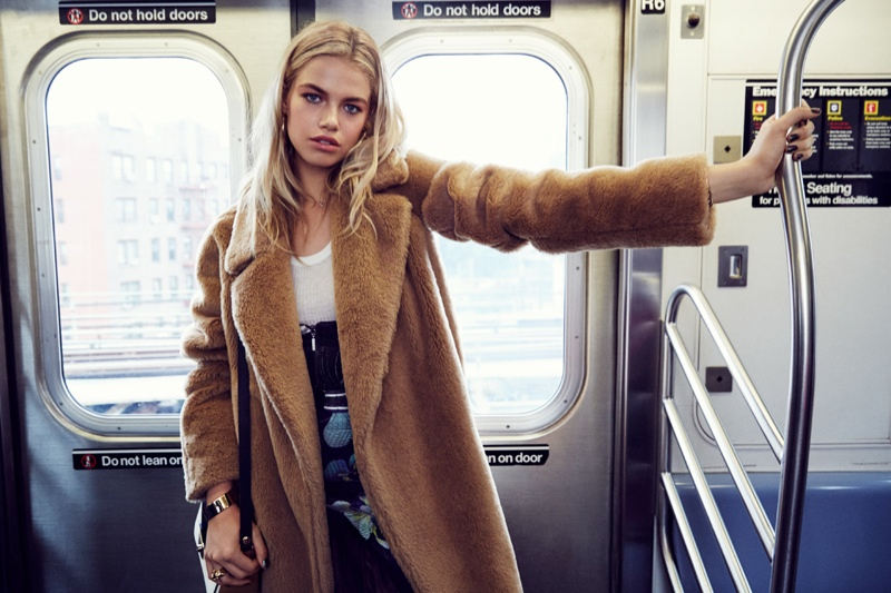 Hailey Clauson Takes New York for Grazia France by Jason Kim