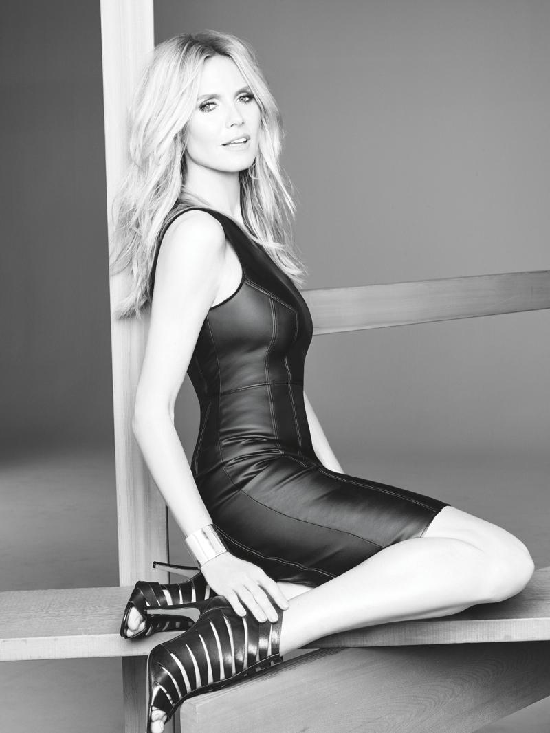 Heidi Klum Macy's INC Fall 2015 Ad Campaign