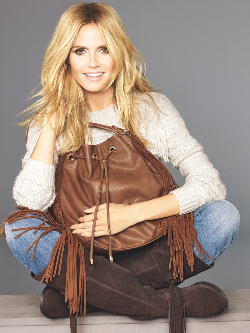 Heidi Klum Shows What's Trending in Macy's INC Campaign