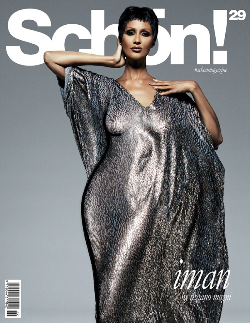 Iman on Schon #29 cover