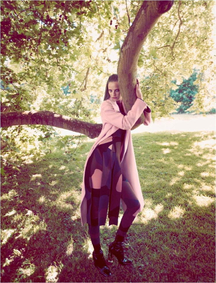 Ine Neefs Has a Romantic Outing in Dior Magazine Editorial