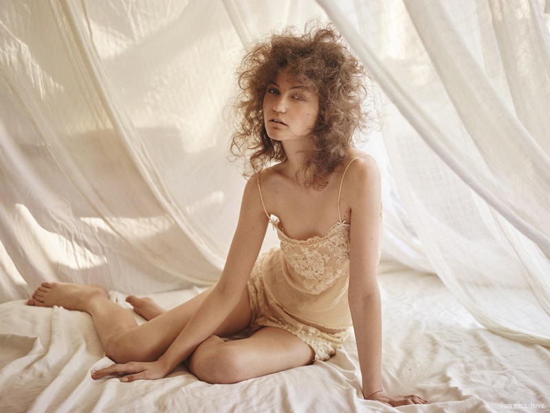 Exclusive: Inez by Tim Ashton in 'Stay in Bed All Day'