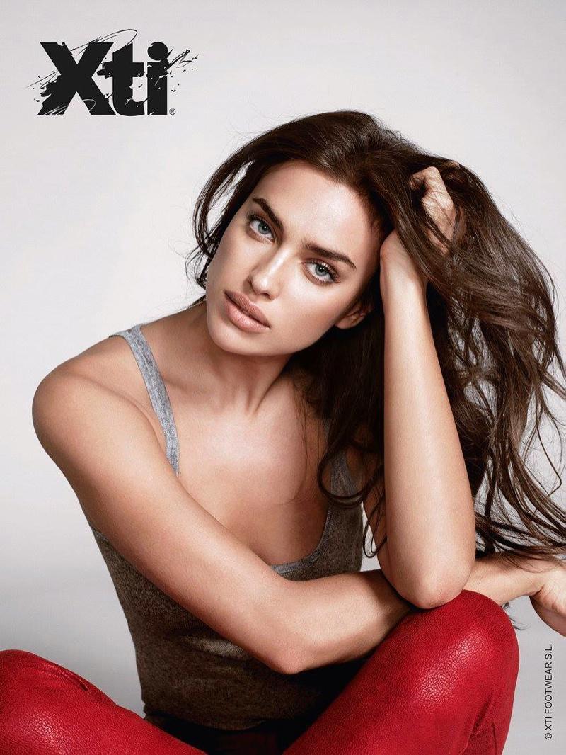 Irina Shayk stars in XTI's fall-winter 2015 campaign