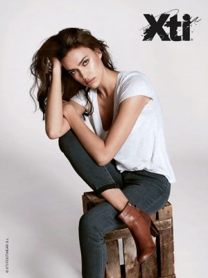 Irina Shayk is Back for XTI's Fall 2015 Campaign