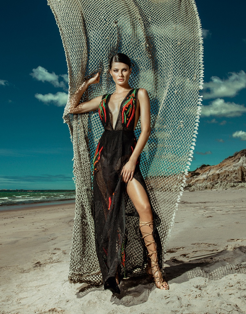 Isabeli Fontana Agua de Coco Summer 2016 Ad Campaign ...