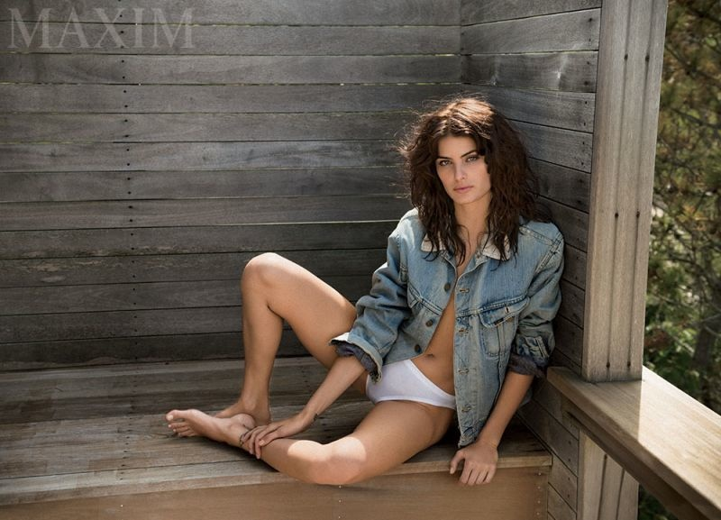 Isabeli Fontana Brings the Heat for Maxim's October Cover Feature