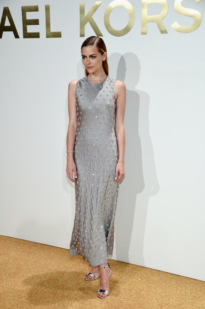 Jaime King at Michael Kors Gold Fragrance Launch