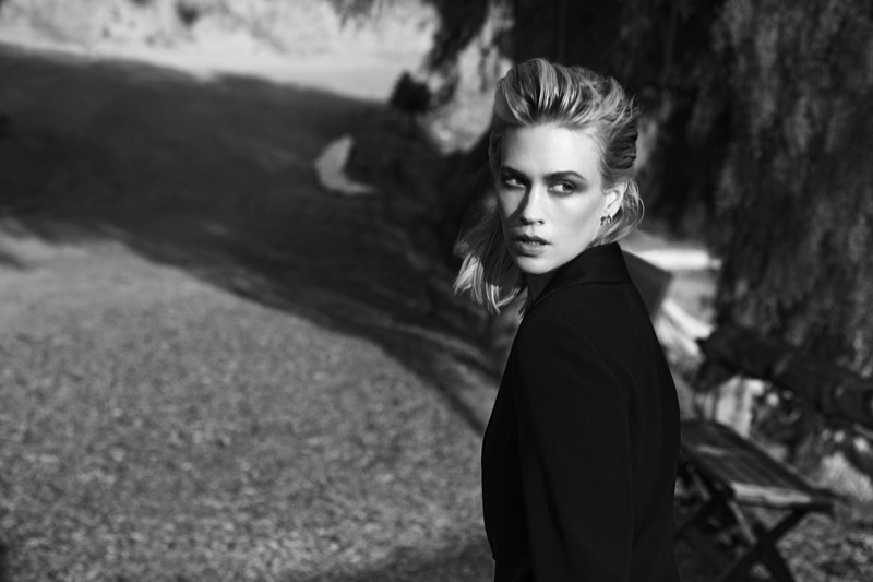 January Jones Gets Cinematic for Vs. Magazine by Francesco Carrozzini