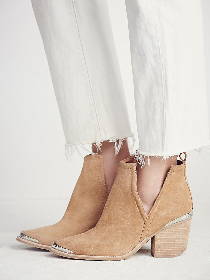 Jeffrey Campbell Suede Ankle Boot available for $198.00
