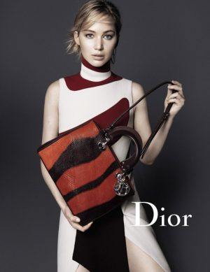 Jennifer Lawrence Fronts New Dior Handbag Campaign