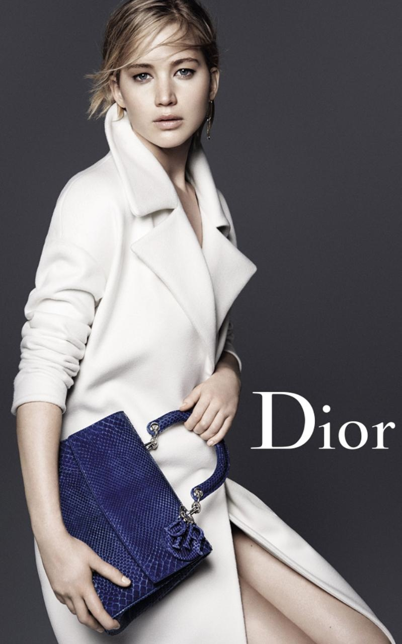 Jennifer Lawrence stars in Dior accessories fall-winter 2015 campaign