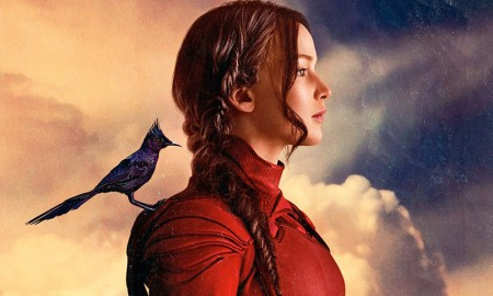 Jennifer Lawrence on 'The Hunger Games: Mocking Jay - Part 2' poster