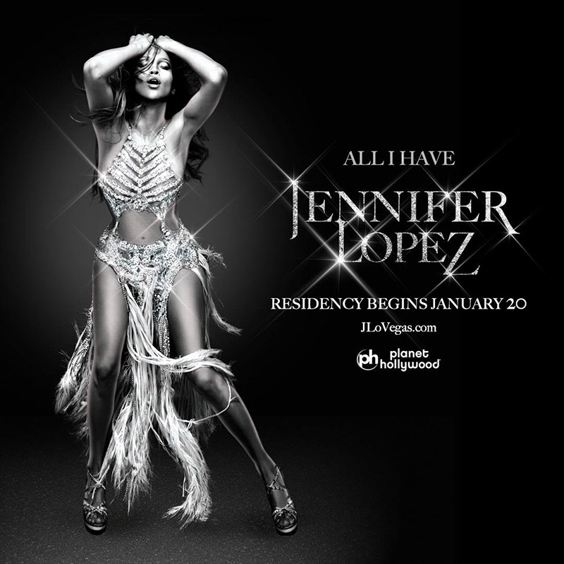 Jennifer Lopez Shines on 'All I Have' Poster