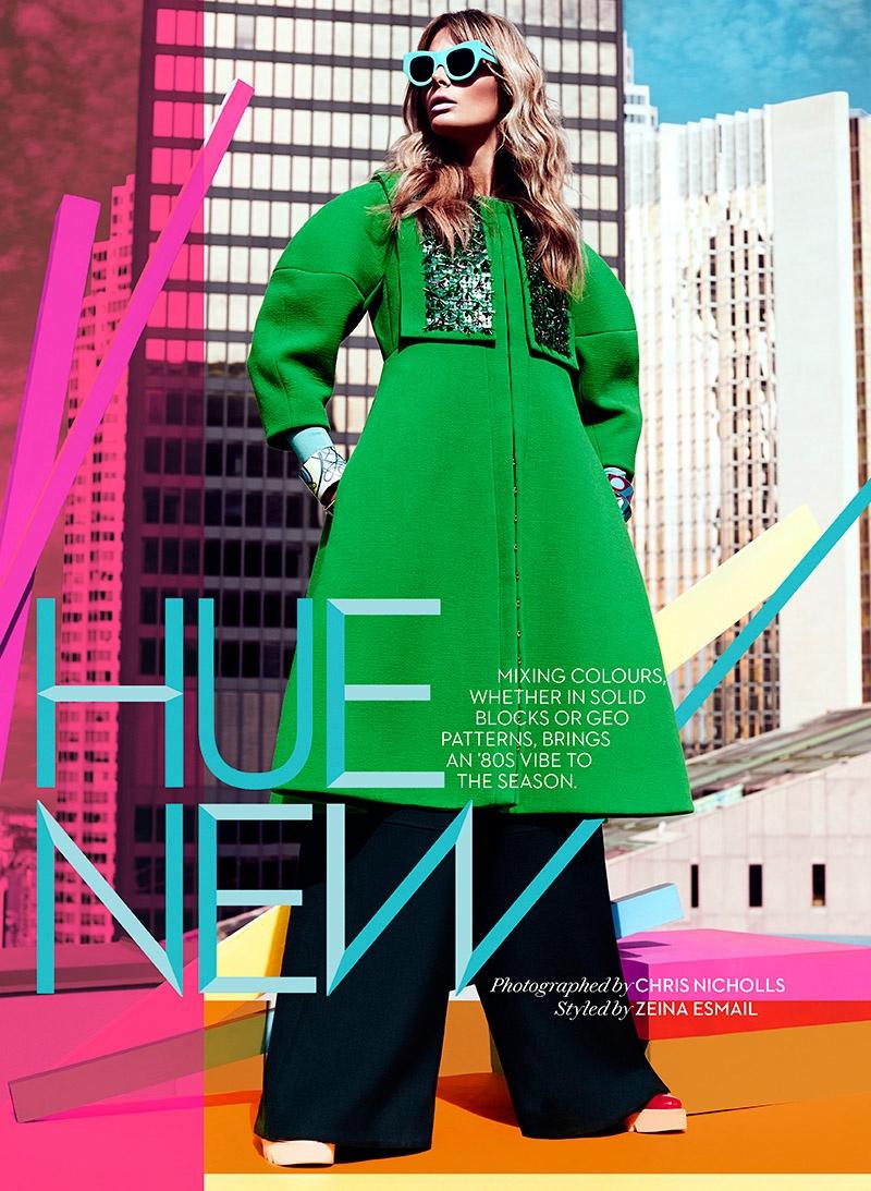 Hue New: Jessiann Gravel by Chris Nicholls in FASHION Magazine