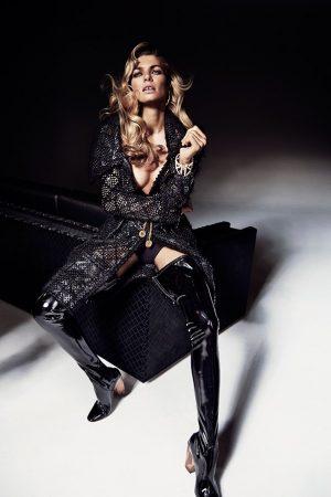 Jessica Hart Flaunts Her Figure in Harper's Bazaar Australia