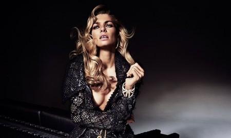 Jessica Hart poses for Harper's Bazaar Australia