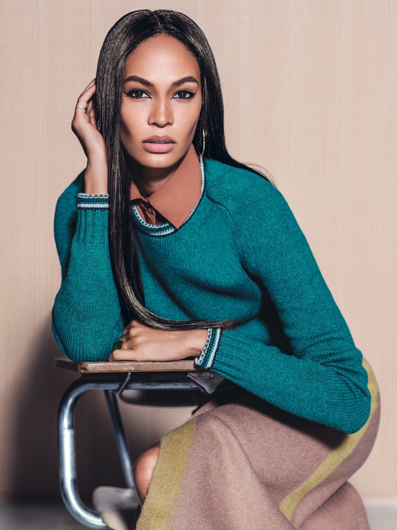 Joan Smalls stars in Vogue Mexico's September issue