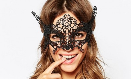 Johnny Loves Rosie Black Eye Mask available for $29.00