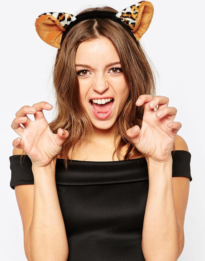 Johnny Loves Rosie Leopard Ears Headband available for $33.00