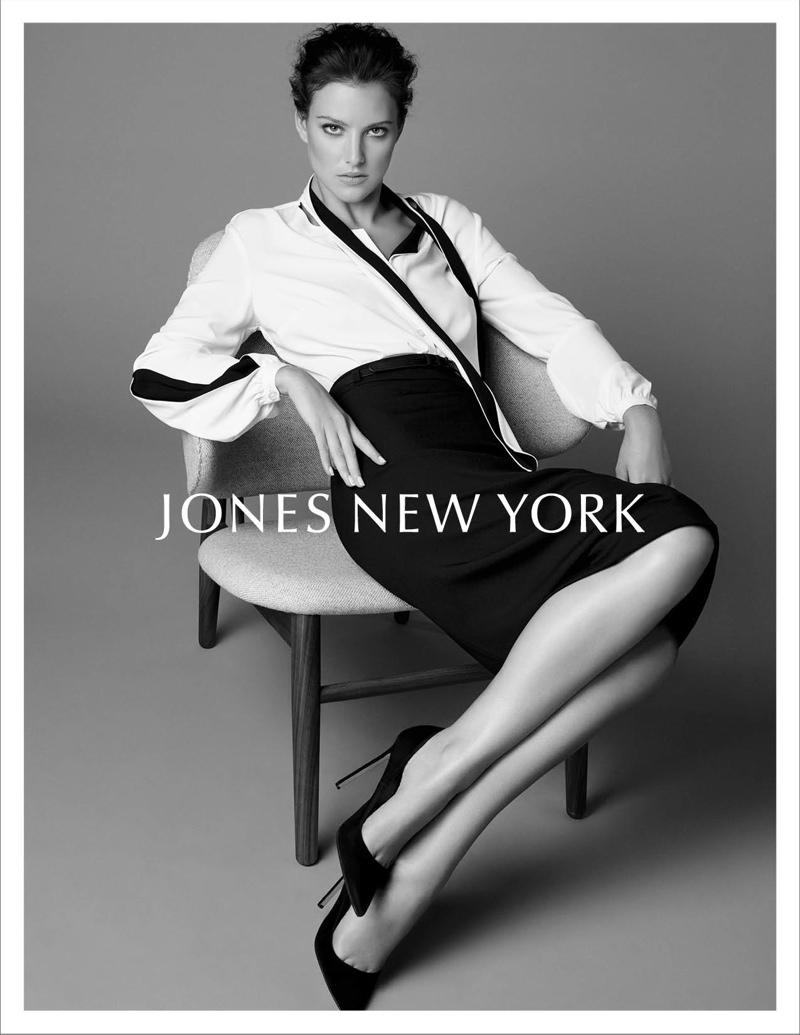Eliza Cummings Fronts Jones New York Fall '15 Campaign
