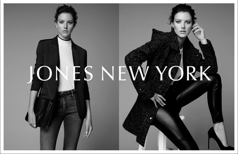 Eliza Cummings Fronts Jones New York Fall '15 Campaign