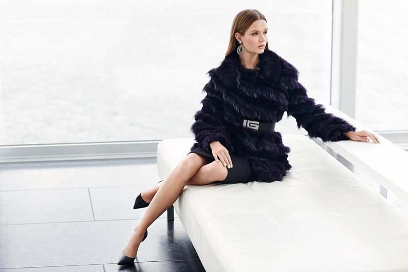 Josephine Skriver stars in NAFA fall-winter 2015 / 2016 campaign