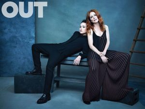Julianne Moore + Ellen Page Pose for OUT Magazine, Talk 'Freeheld' Movie