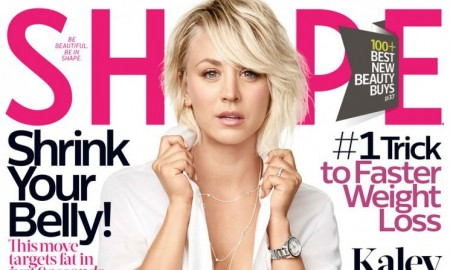 'The Big Bang Theory' star Kaley Cuoco flaunts her body in the October 2015 cover story from Shape Magazine photographed by Nino Munoz.