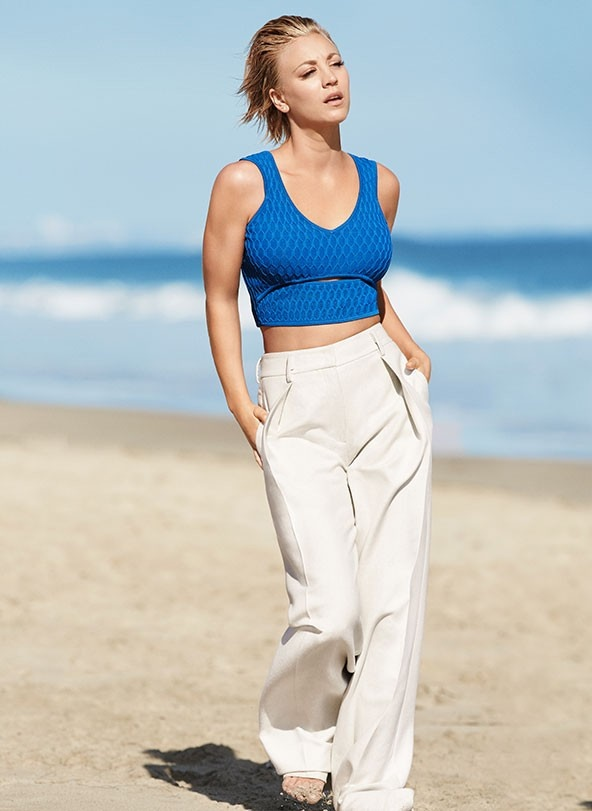 Kaley Cuoco Shape Magazine October 2015 Cover Shoot