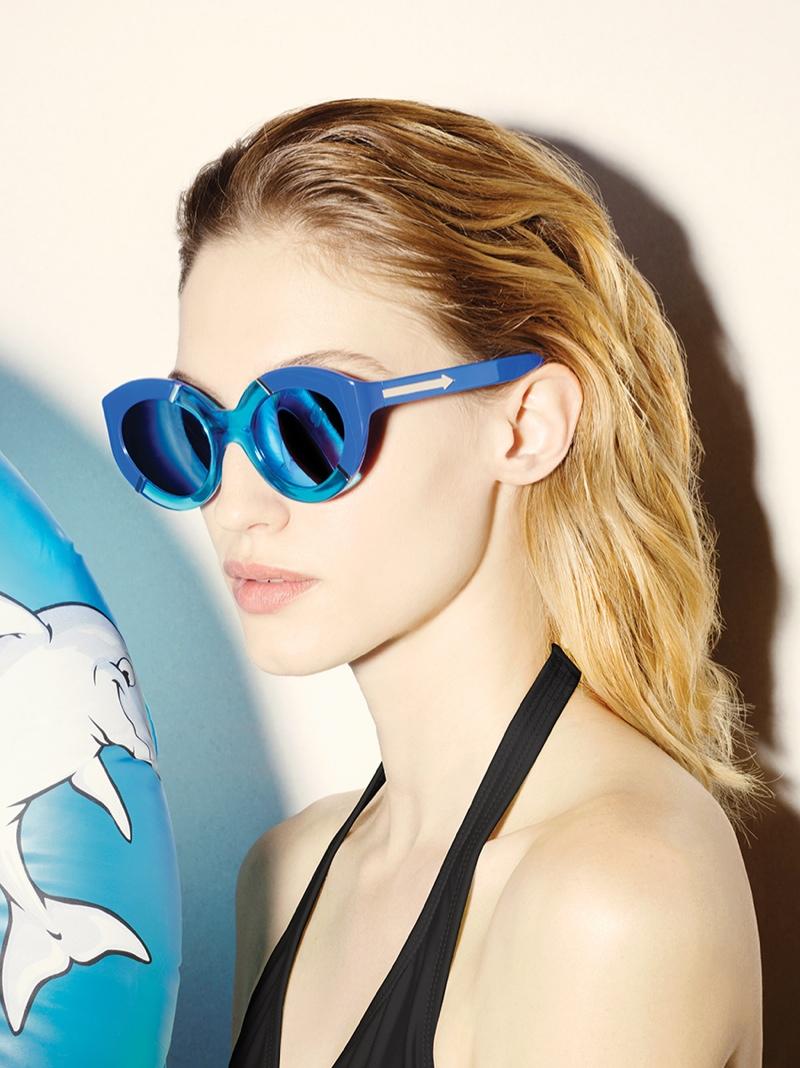 Karen Walker Goes Poolside for New Eyewear Collection