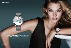 Karlie Kloss Stars in the Huawei Watch Campaign