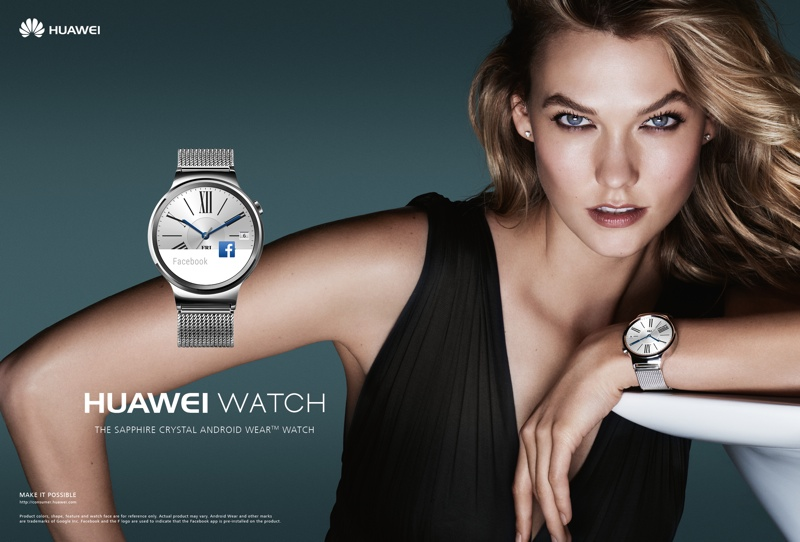 Karlie Kloss stars in Huawei Watch campaign