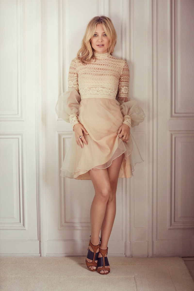Kate Hudson wears Moira sandals from Jimmy Choo