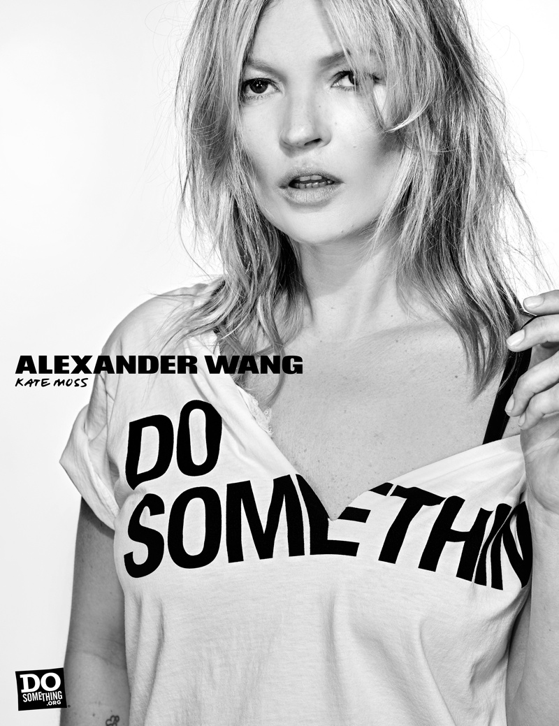 Do Something - Kate Moss, Behati Prinsloo, Cara Delevingne + More Stars Front Alexander Wang`s