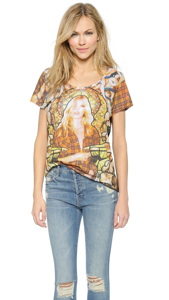 ElevenParis Kate Moss Mosaic Tee available for $18.90