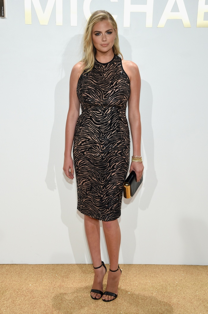 Kate Upton at Michael Kors Gold Fragrance Launch