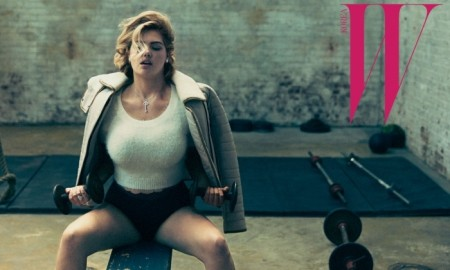 Kate stars in a gym inspired editorial