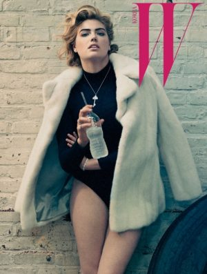 Kate Upton Works Out in Style for W Korea