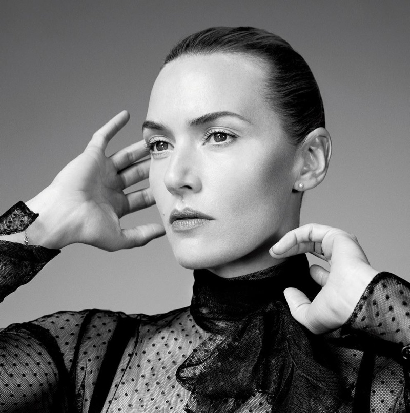 Kate Winslet poses in WSJ. Magazine's October issue