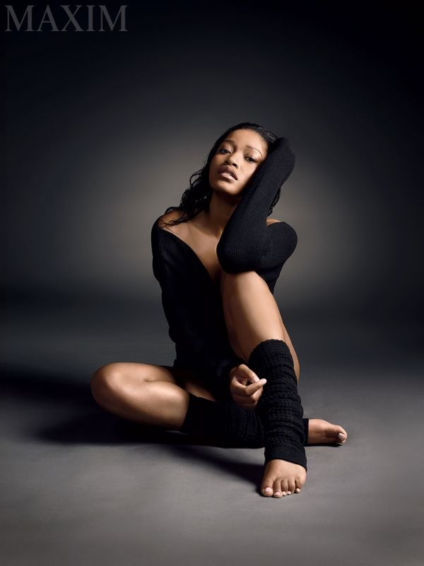 'Scream Queens' Star Keke Palmer Stars in Sultry Maxim Shoot