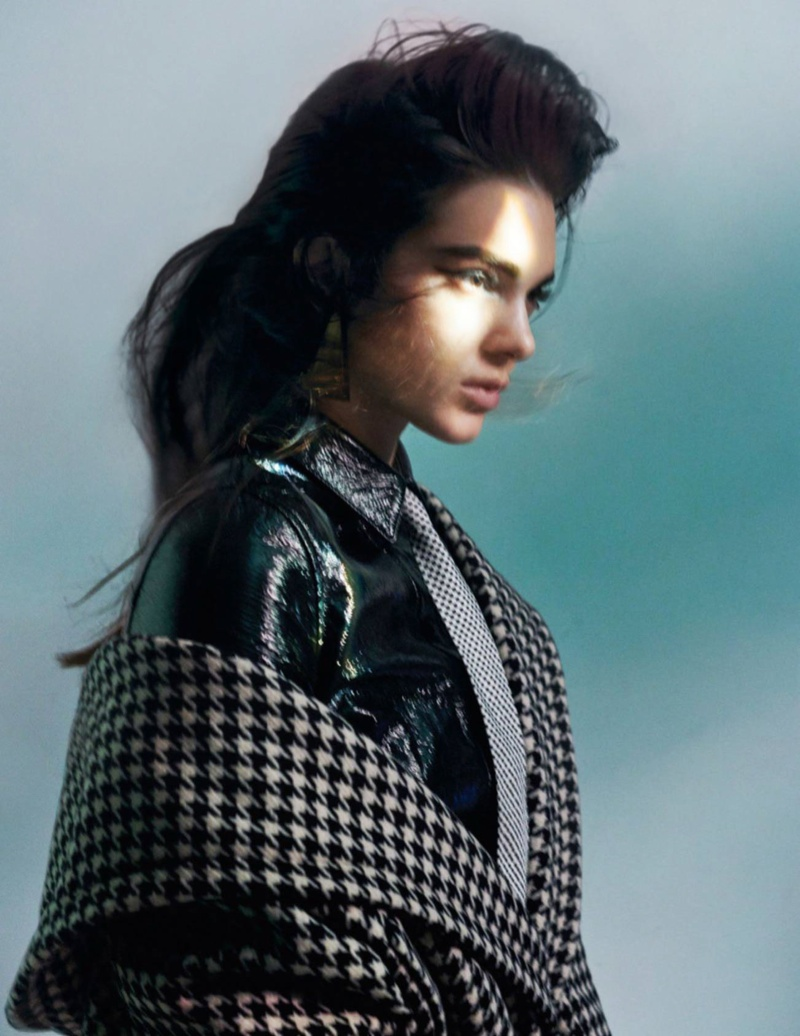 Kendall Jenner stars in Vogue Paris' October issue